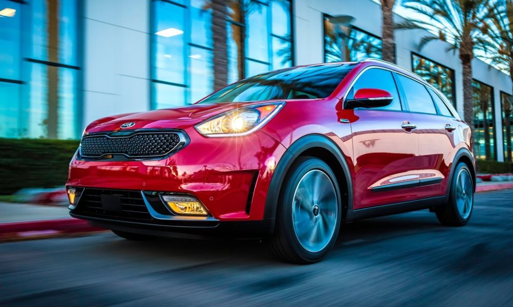 Kia Niro officially revealed