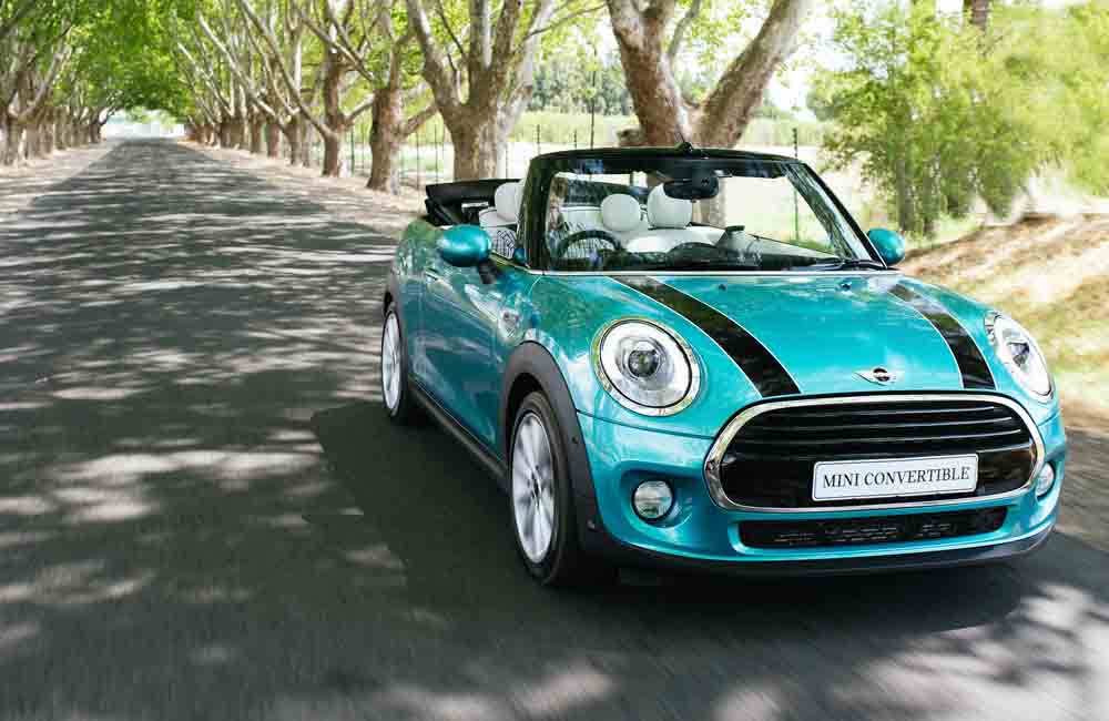 Mini Cooper S Convertible front