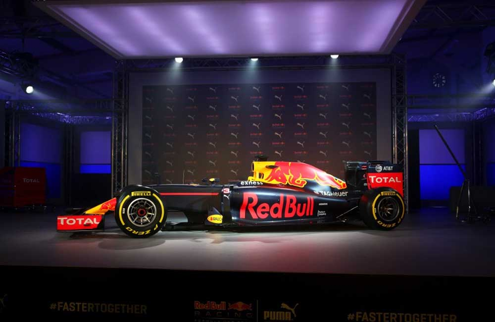 Red Bull Racing livery