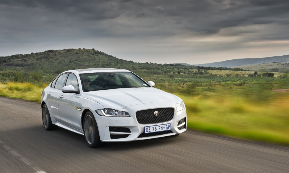 The new Jaguar XF