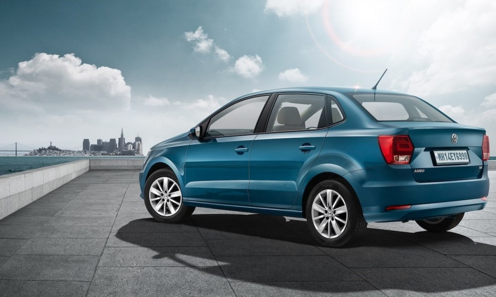 India receives an exclusive VW Ameo