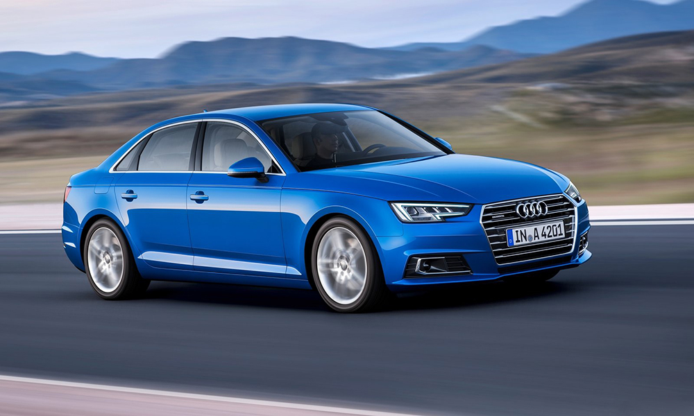 Design-wise the new A4 isn't a radical change