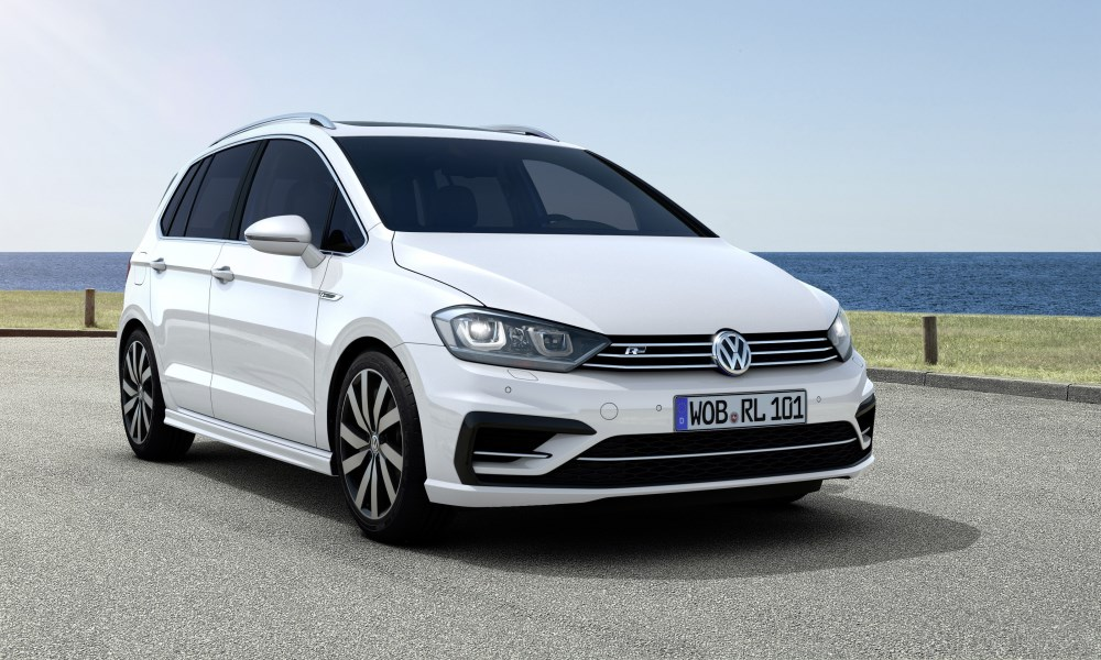 VW Golf SV R-Line Introduced