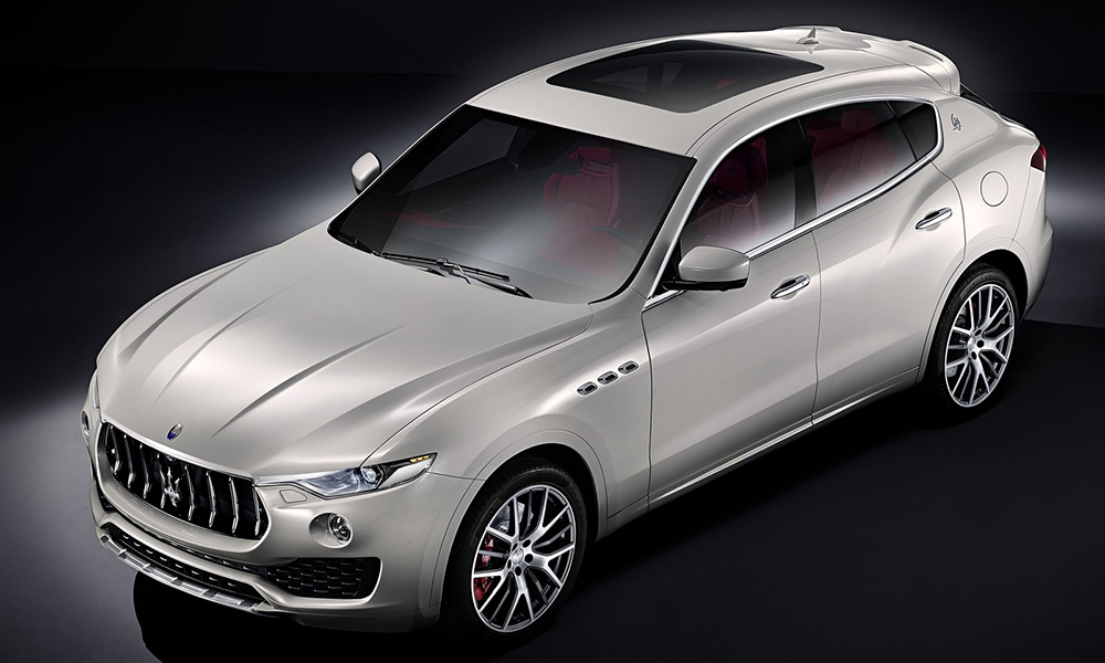 The Maserati Levante has been revealed ahead of Geneva