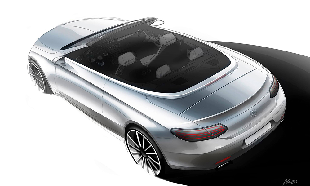 The C-Class Cabriolet will be unveiled at the Geneva Show