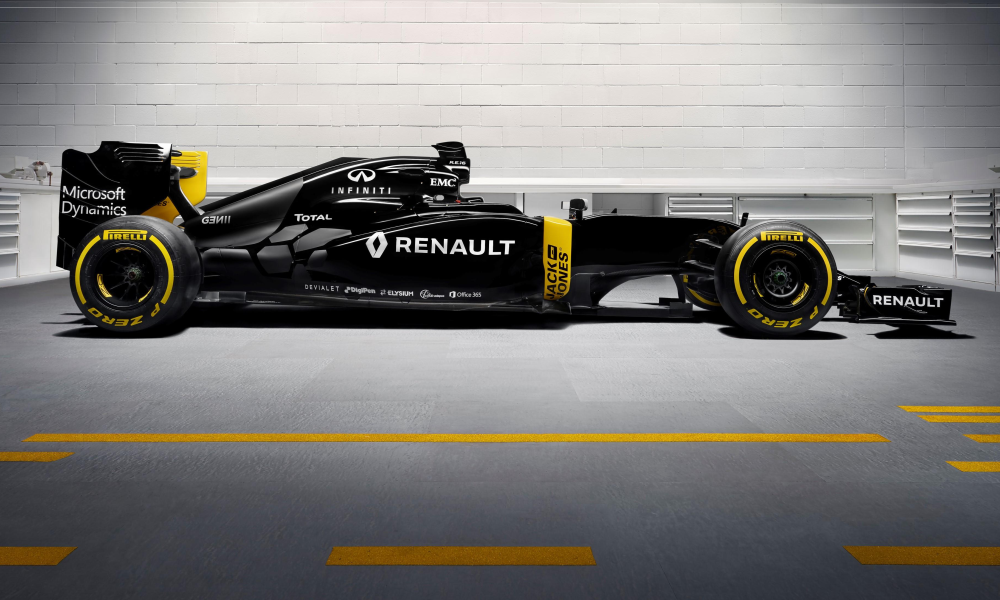 Renault RS16 Formula One car revealed