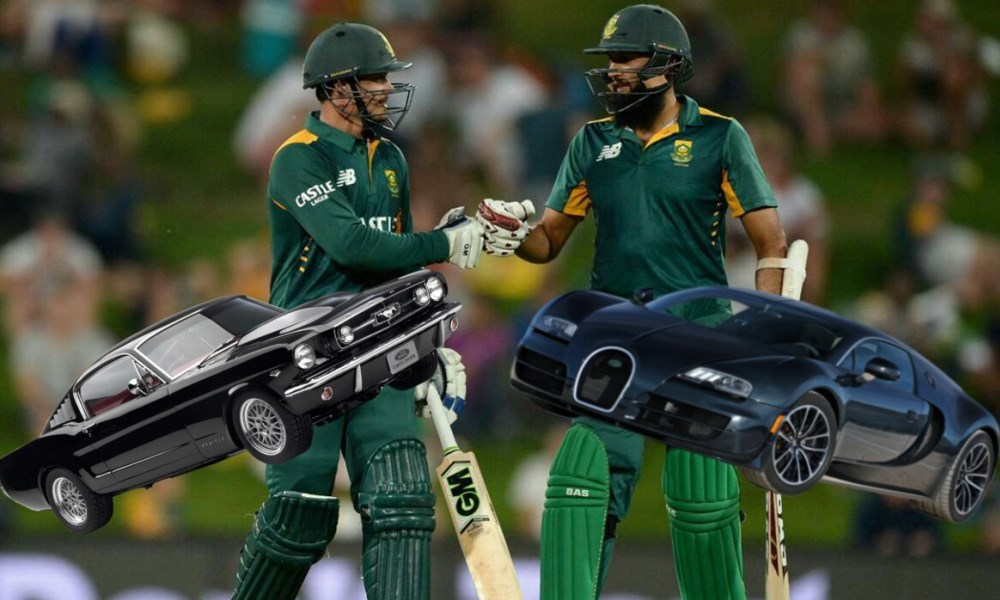 Amla & QDK on cars