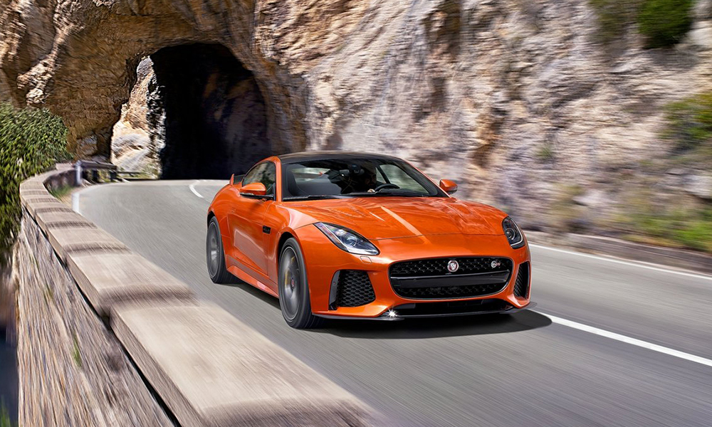 The Jaguar F-Type SVR has been revealed ahead of Geneva