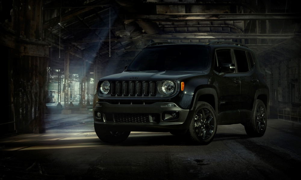 Jeep Renegade represents for BvS