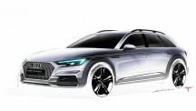 Audi A4 Allroad design sketch