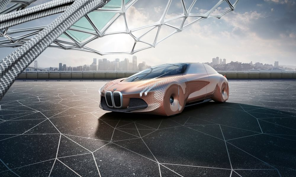 BMW Vision Next 100 celebrates a century of production.