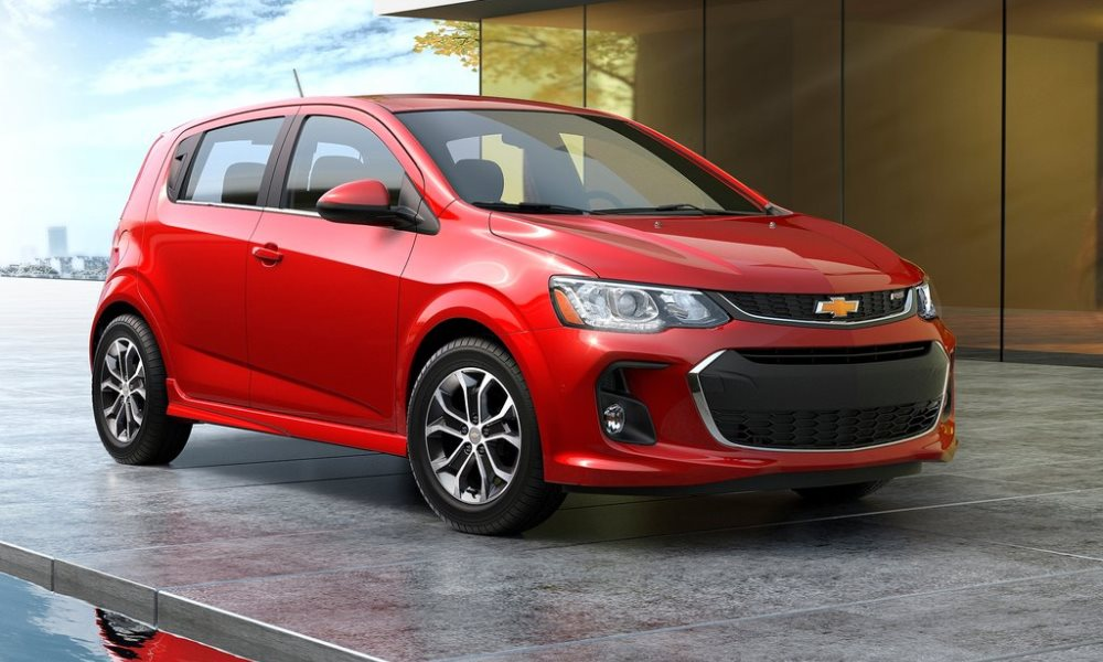 This is the Chevrolet Sonic Facelift