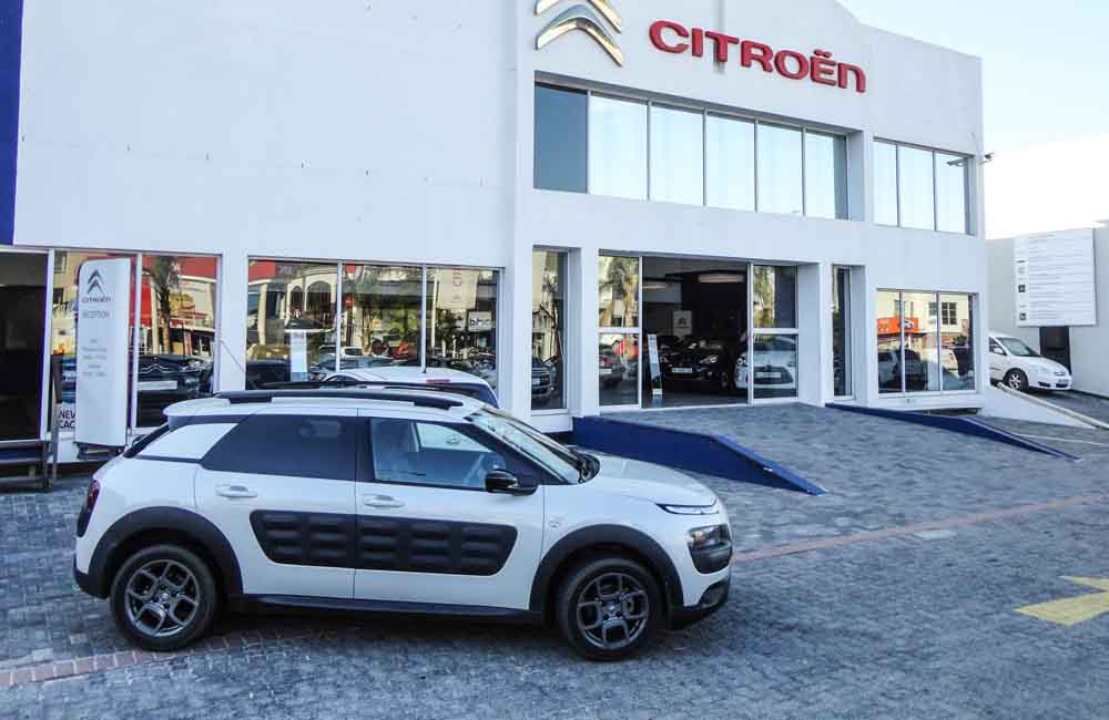 Citroën C4 Cactus side