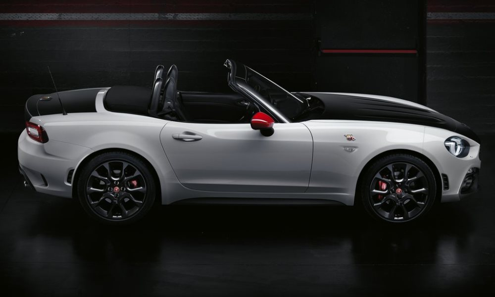 While still based on the MX-5 this version will have the Abarth 1,4-litre powerplant.