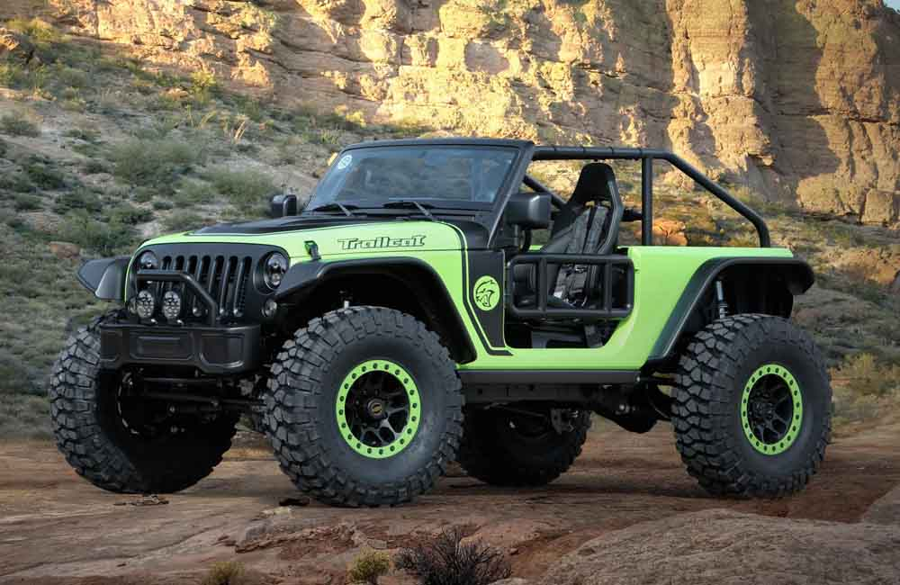 Jeep Trailcat front