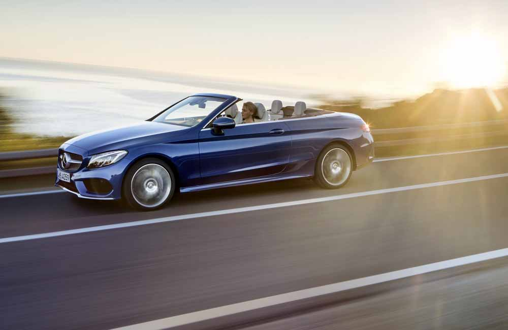 Mercedes-Benz C-Class Cabriolet side