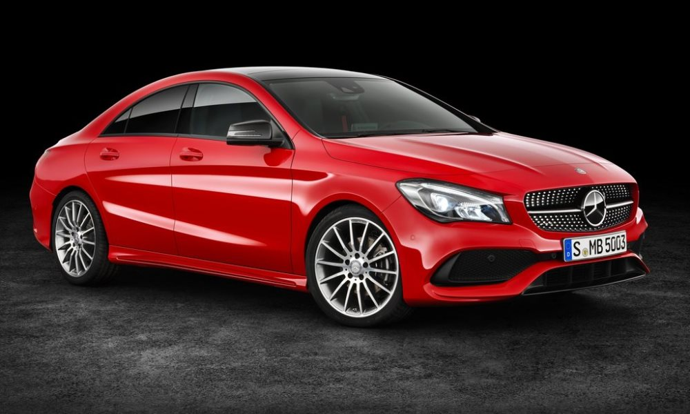 Mercedes-Benz CLA Facelift Revealed