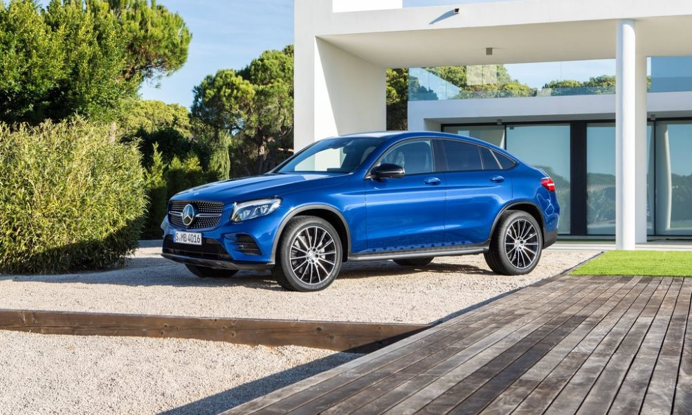 The New Mercedes-Benz GLC Coupe