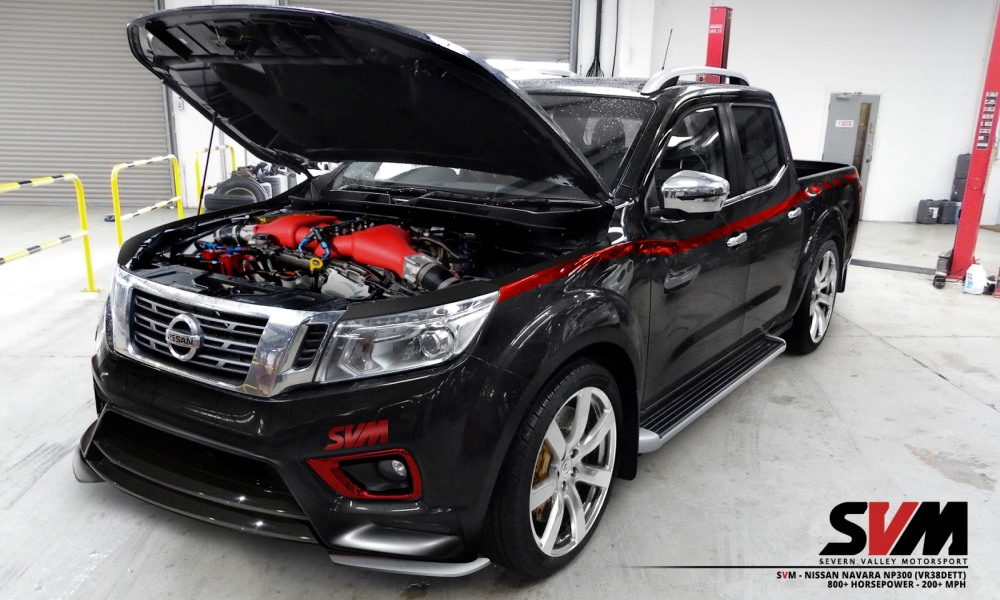 GT-R Powered Navara by Severn Valley Motorsport