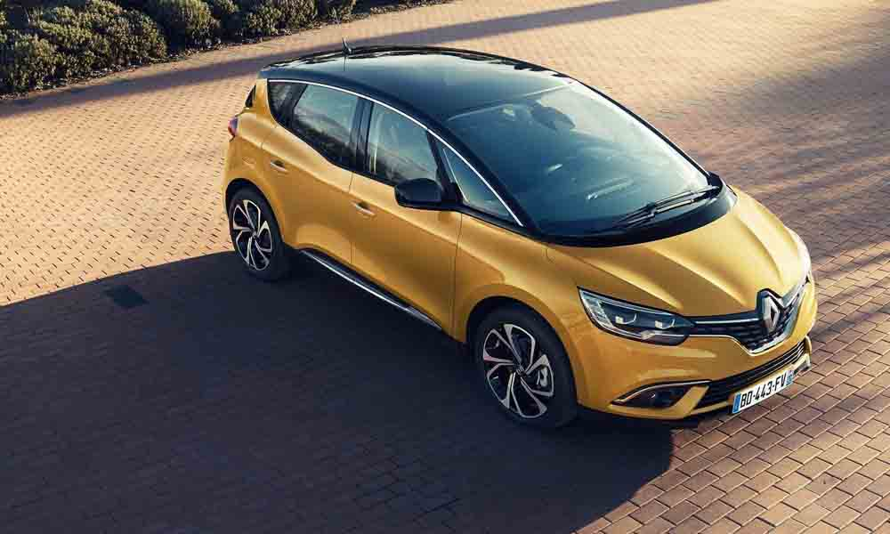 Renault Scenic front
