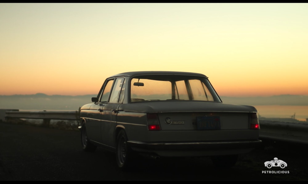 Petrolicious - This BMW 1600 Neue Klasse Is A Grey Ghost