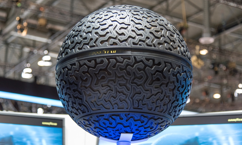 Goodyear unveils its Eagle 360 Tyre