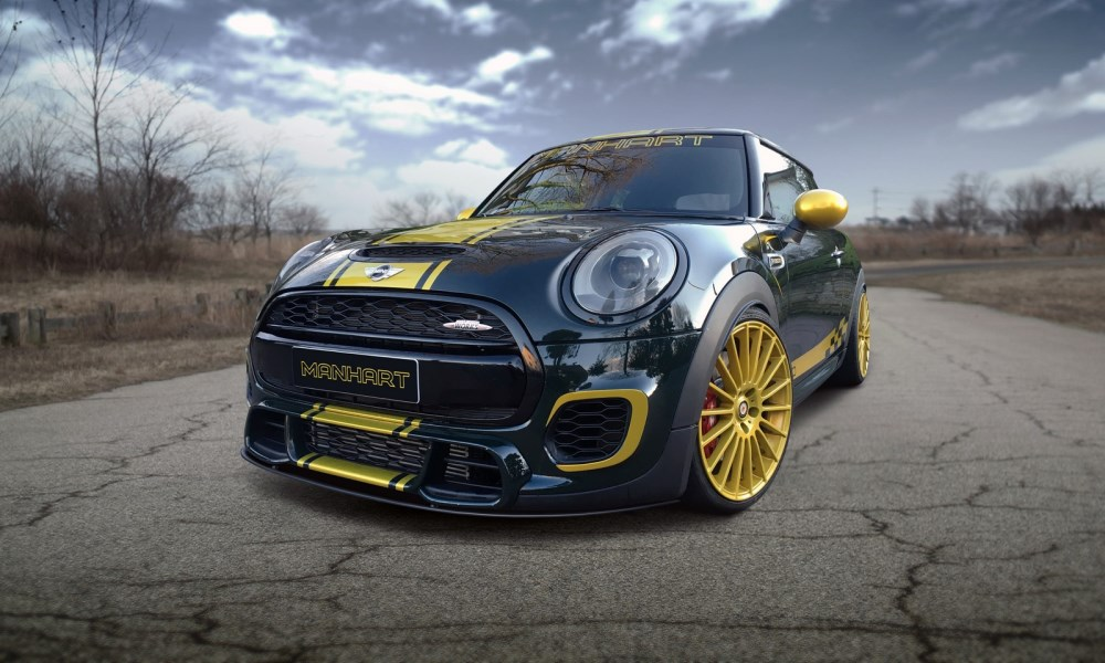 Manhart reveals its extreme Mini F300