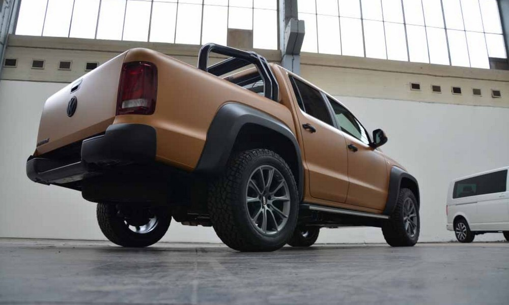 This Amarok misses the standard engine, brakes and suspension.