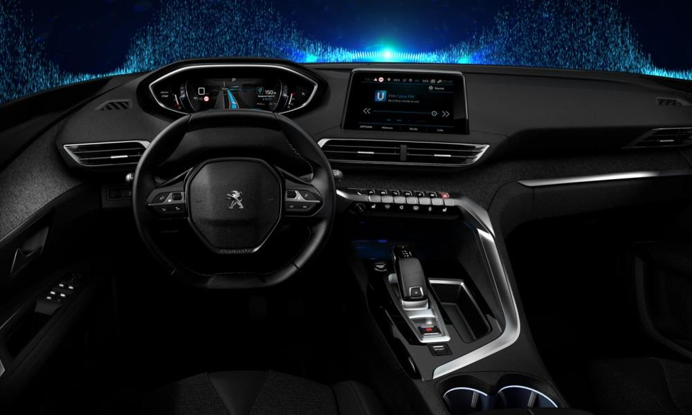 Peugeot reveals a digital i-Cockpit instrument cluster