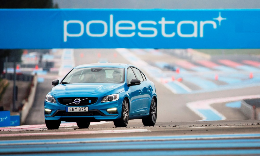 Volvo S60 Polestar front