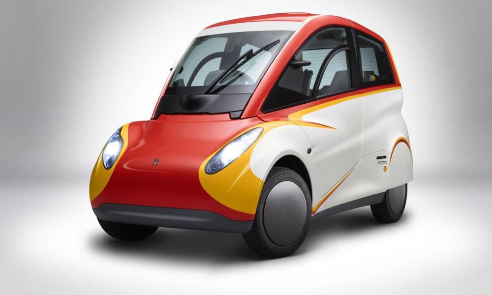 Shell takes over the Gordon Murray T25