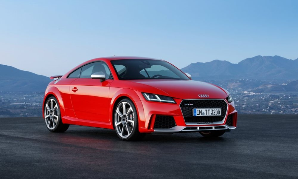 Audi TT RS Officially Revealed