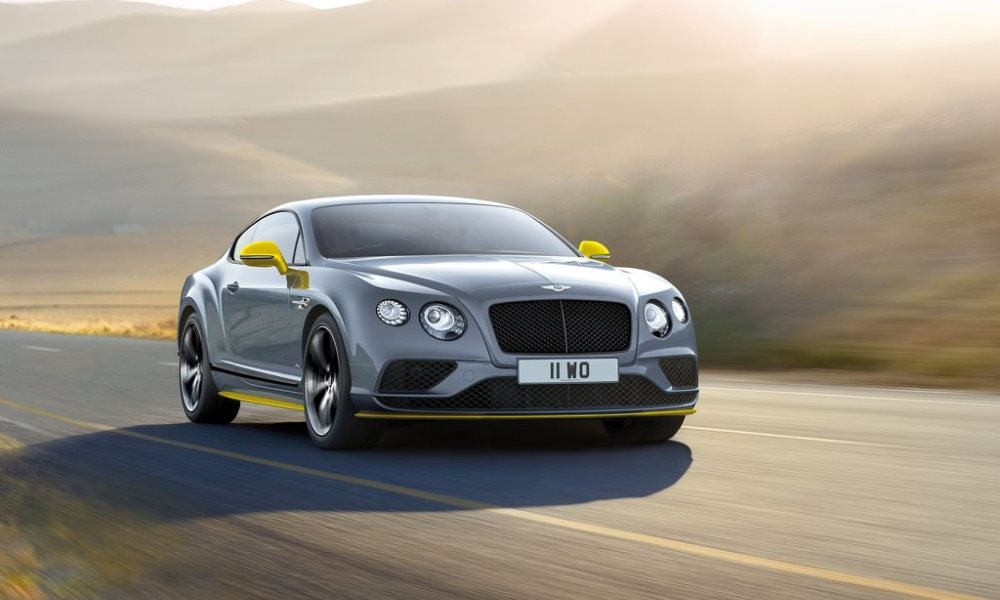 2016 Bentley Continental GT Speed Black Edition Revealed