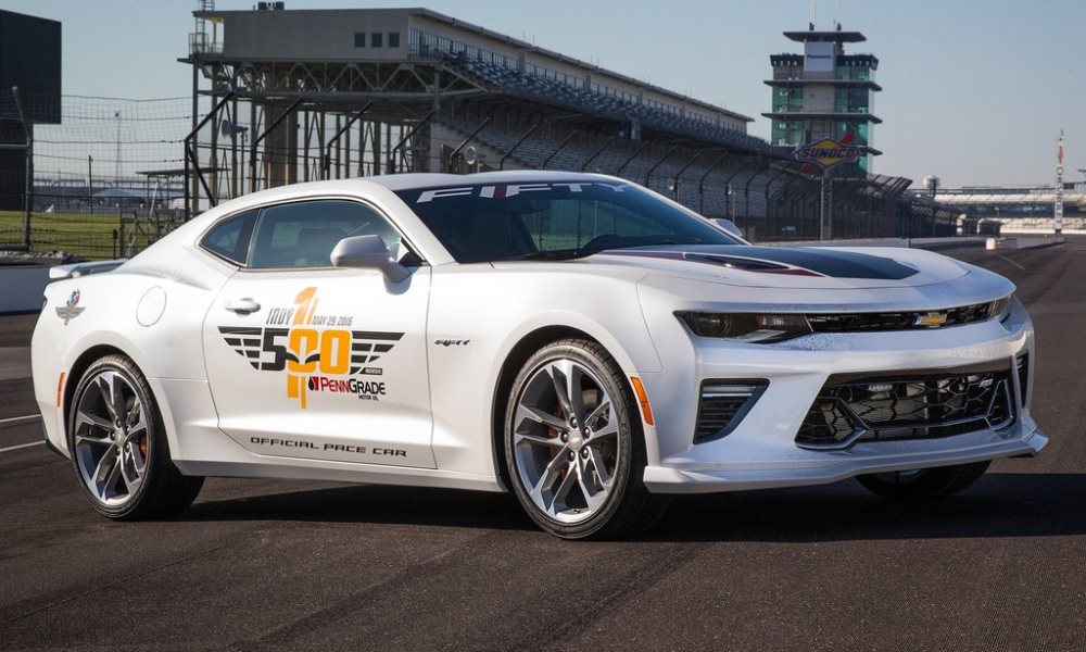 Chevrolet Camaro SS Indy 500 Pace Car Revealed