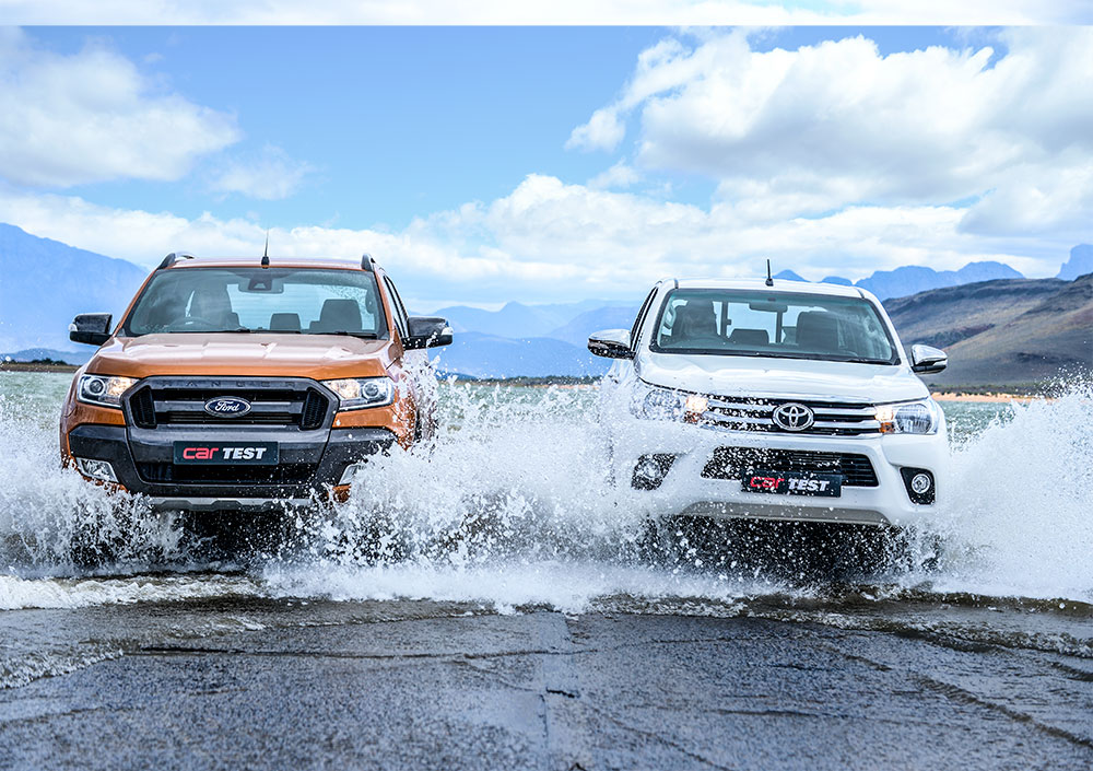Road Test Ford Ranger 3 2 Tdci Dc 4x4 Wildtrak At Vs Toyota Hilux