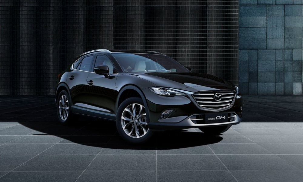 Mazda reveals its Chinese exclusive CX-4