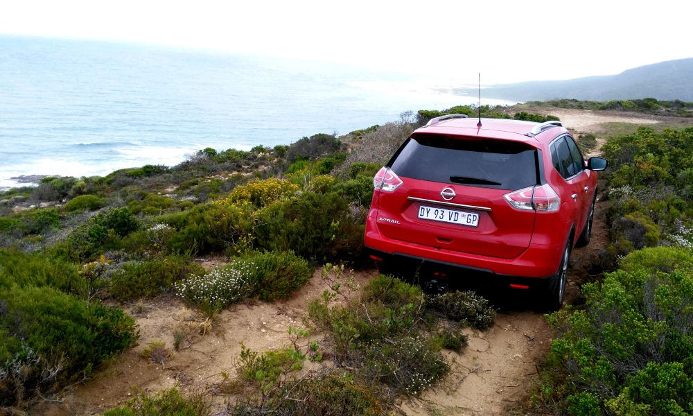 The AWD X-Trail will allow you to venture further off the beaten track.
