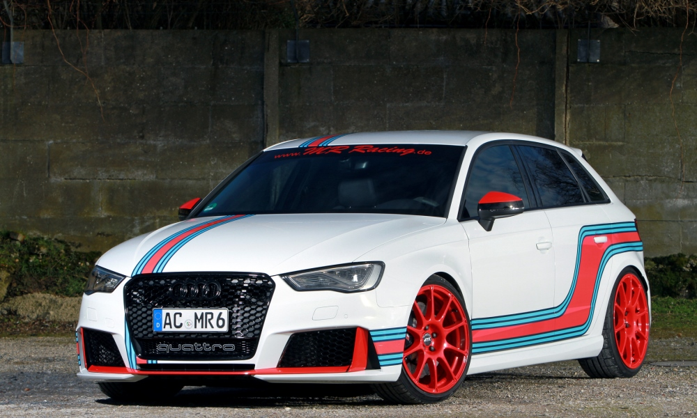 Audi RS3 tuned by MR Racing