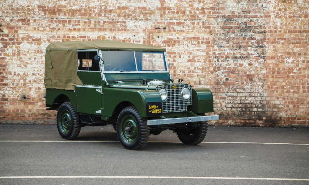 Land Rover Series 1 to make a limited return