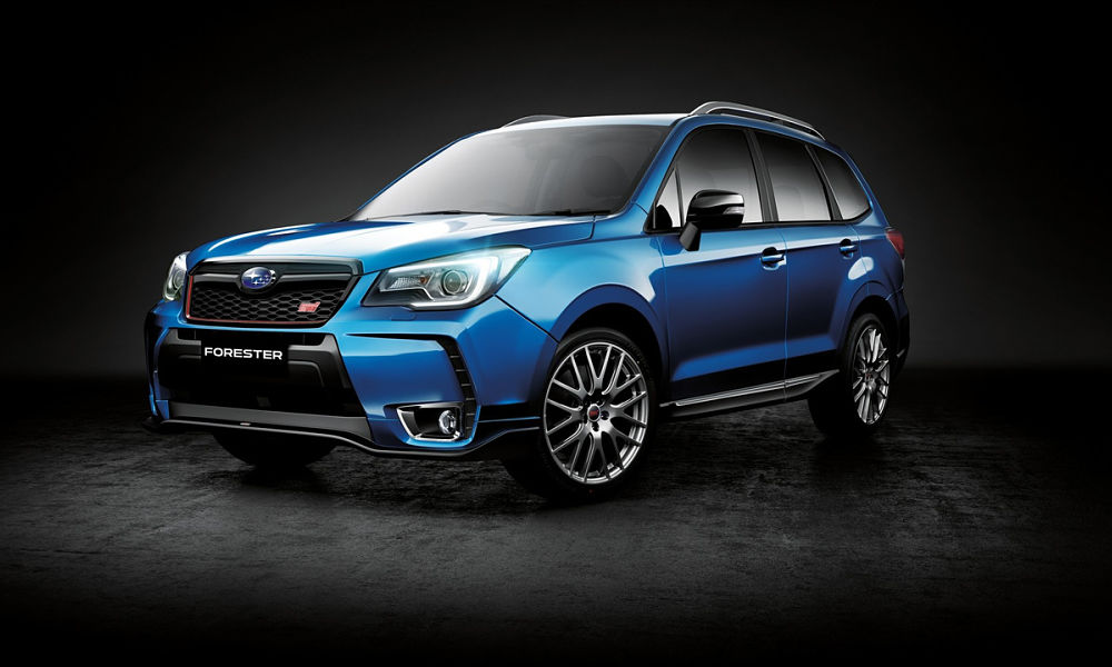 Australia gets hot Subaru Forester tS STI