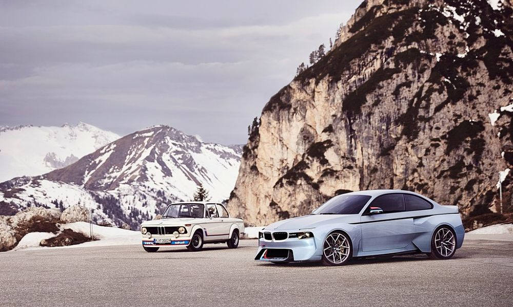 BMW 2002 Hommage Concept Revealed