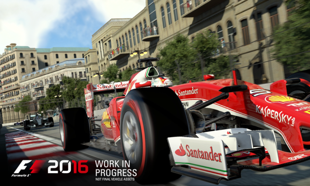 Formula One 2016 by Codemasters announced