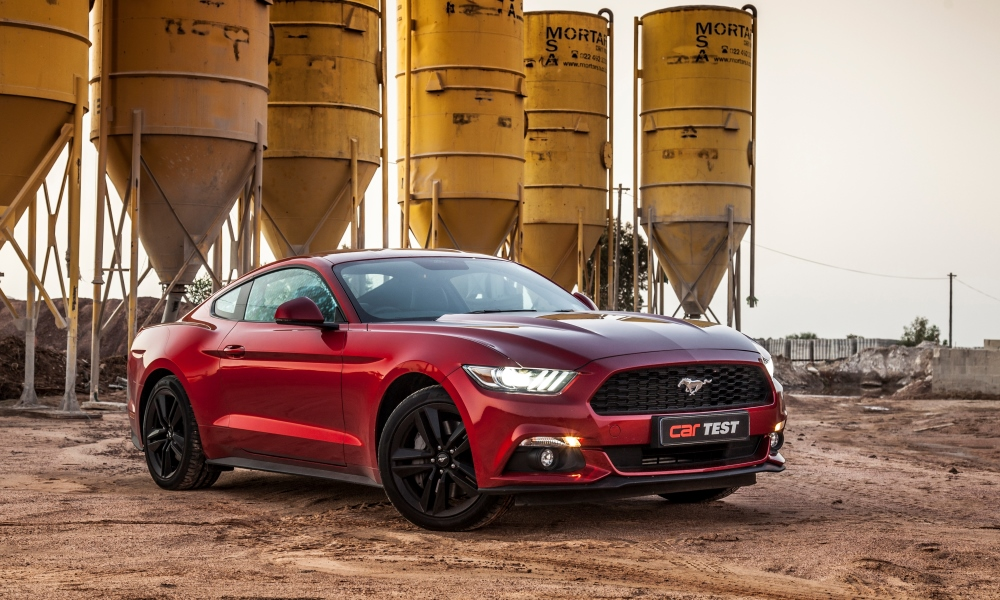 Ford Mustang 2,3T Fastback
