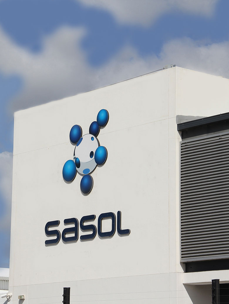 Thanks to Sasol for use of its facilities.