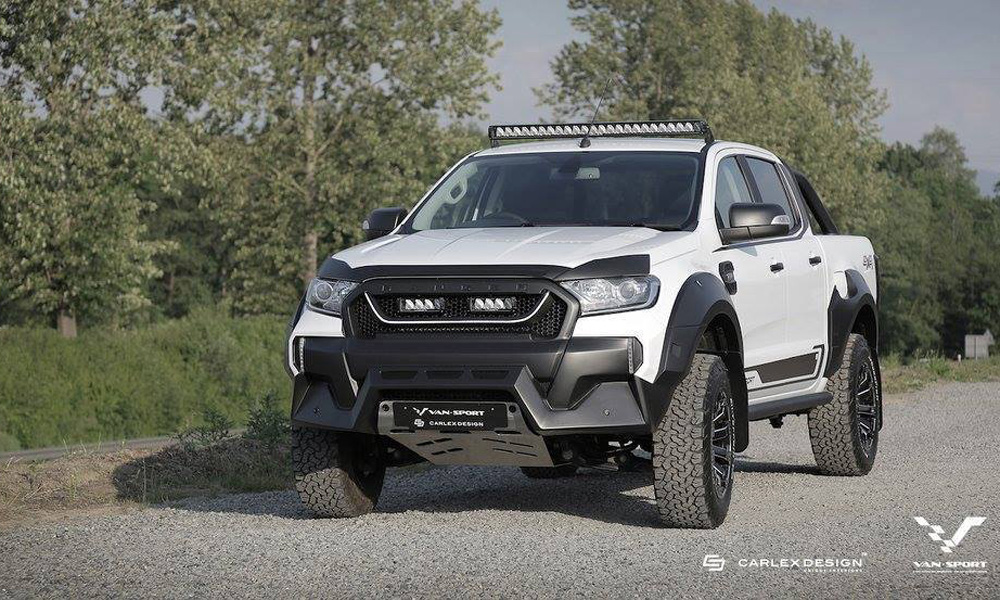 The Ford Ranger M-Sport will be sold in the UK and Europe.