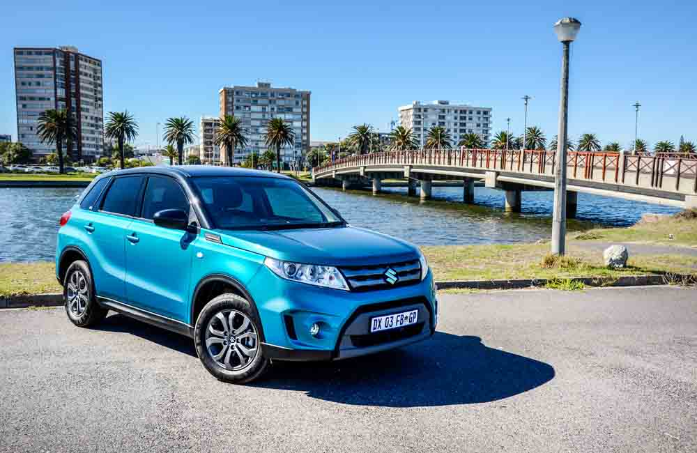 The Vitara offers a slick shifting, five-speed manual gearbox.