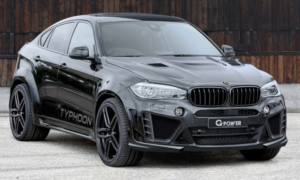 G Power Beefs Up The Bmw X6 M Car Magazine