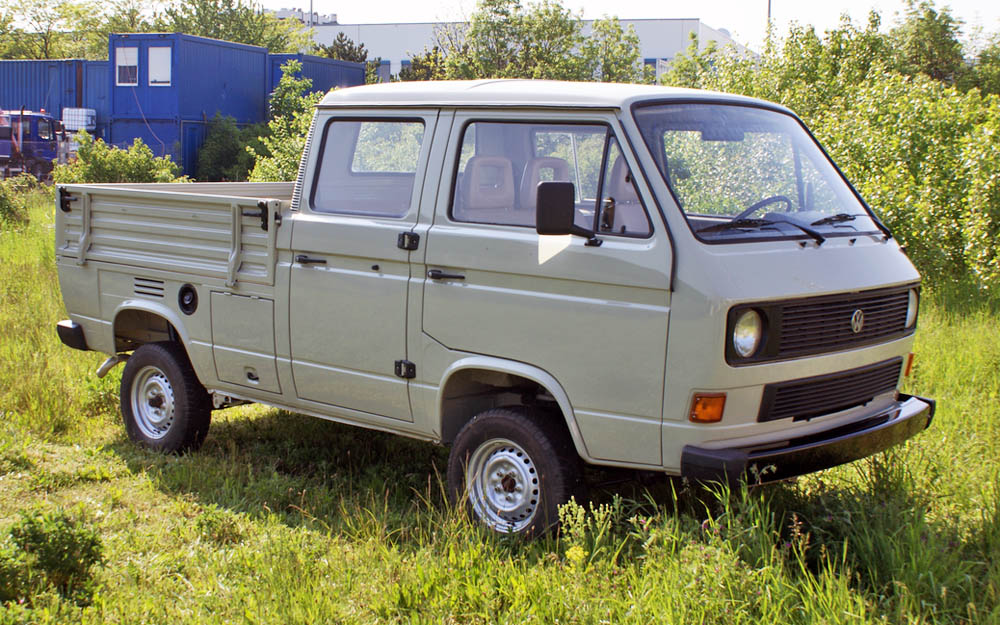 Volkswagen T3 double-cab pick-up