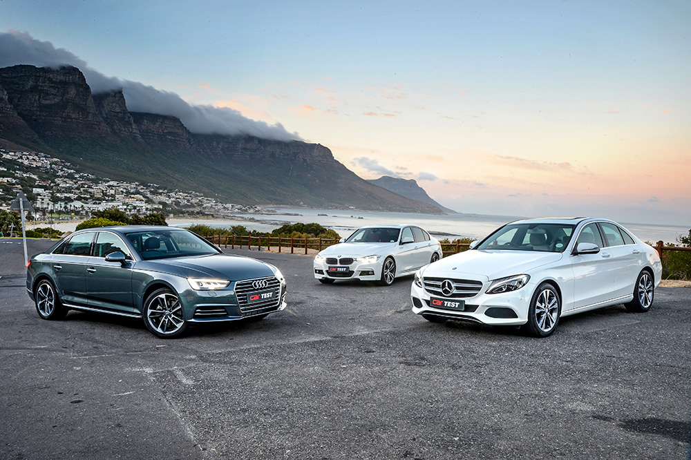German executive sedan shootout