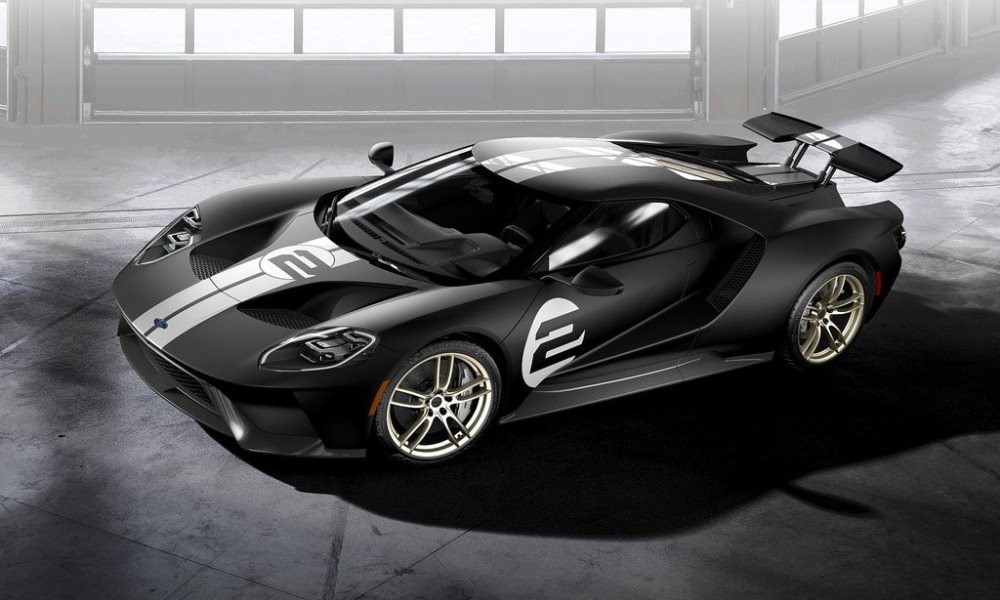 Ford GT 66 Heritage Edition revealed